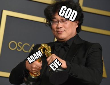 """Memy z Oscarów 2020. Internauci docenili szczególnie """"Parasite"""""""