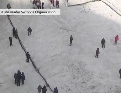 Tak grają w piłkę na kijowskim Majdanie Niepodległości