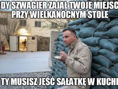 Andrzej Duda z wizytą u żołnierzy w Afganistanie. Zobacz najlepsze memy!