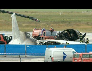 Niemcy: spłonął samolot pełen... kur