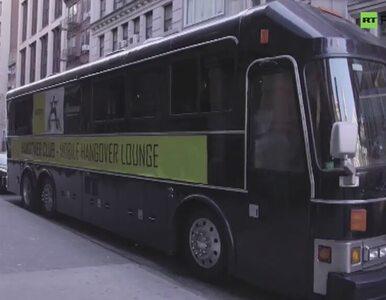 Specjalna kroplówka i nietypowy autobus. Tak leczą kaca w Nowym Jorku