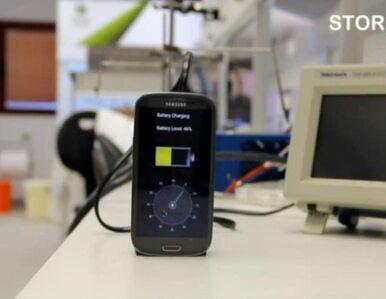 Rewolucyjna bateria do smartfonów. Ładuje się w 30 sekund