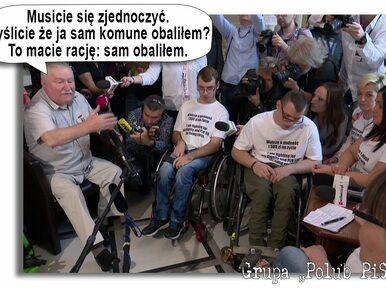 Internauci komentują memami wizytę Wałęsy w Sejmie. Śmieją się z jego...
