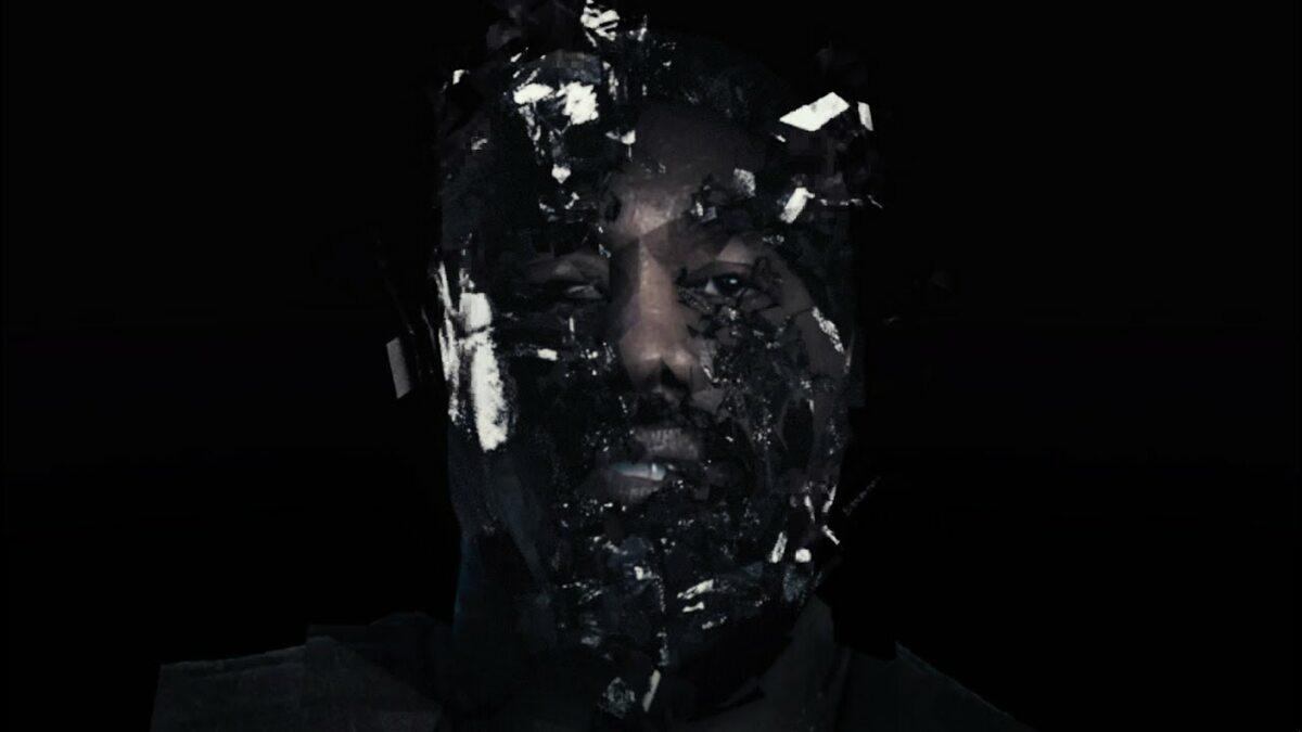 "Kadr z teledysku Kanyego Westa ""Wash Us In The Blood"""