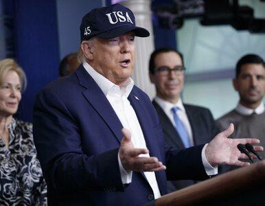 Donald Trump wykonał test na koronawirusa. Prezydent USA jest zdrowy