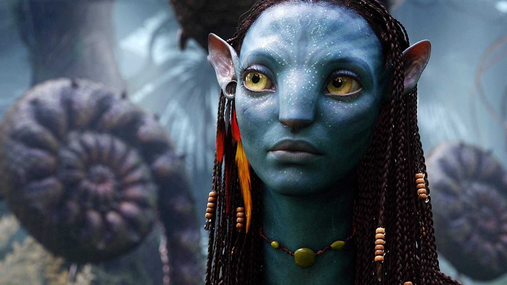 """W filmie """"Avatar""""  (2009) w rolę  Neytiri wcieliła się:"""