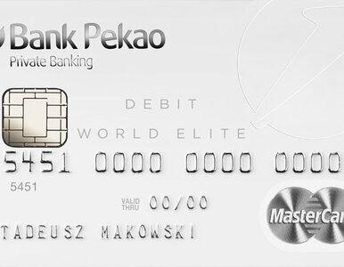 Najbardziej prestiżowa karta debetowa World Elite Debit MasterCard już...