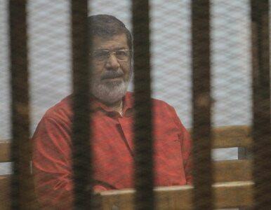 Były prezydent Egiptu skazany na 25 lat więzienia. Szpiegował na rzecz...