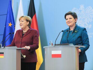 """Szydło porozmawia z Merkel o niemieckich mediach. """"Żeby uczciwie nas..."""