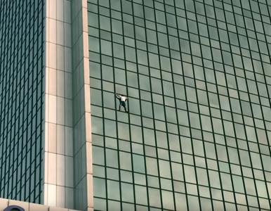 Wspiął się na hotel Marriott bez zabezpieczeń. Teraz pokazał nagranie