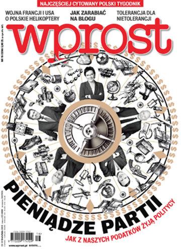 Okładka tygodnika Wprost nr 16/2015 (1675)