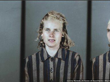 """""""Twarze Auschwitz"""". Brazylijska artystka dokonała koloryzacji zdjęcia..."""
