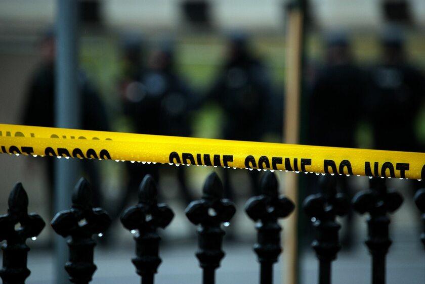 Miejsce zbrodni, zdjęcie ilustracyjne