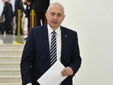 Joachim Brudziński podziękował posłowi PO za umycie zniszczonych drzwi...