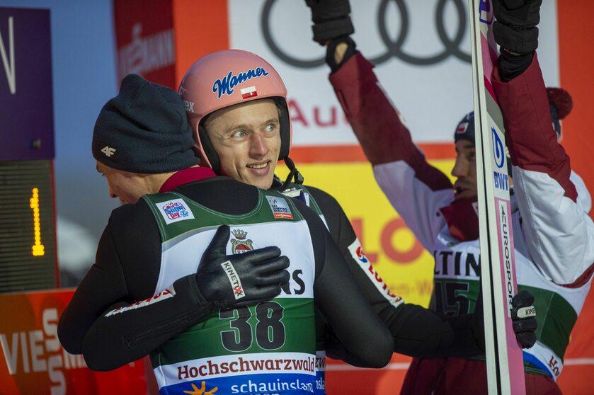 Dawid Kubacki, Piotr Żyła i Kamil Stoch