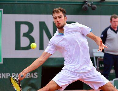 ATP Halle: Janowicz przegrał w I rundzie