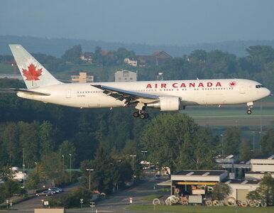 Awaryjne lądowanie AC837 obserwują tysiące. Flightradar ma problemy...