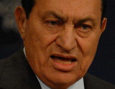 Egipt chce zamrożenia kont Mubaraka