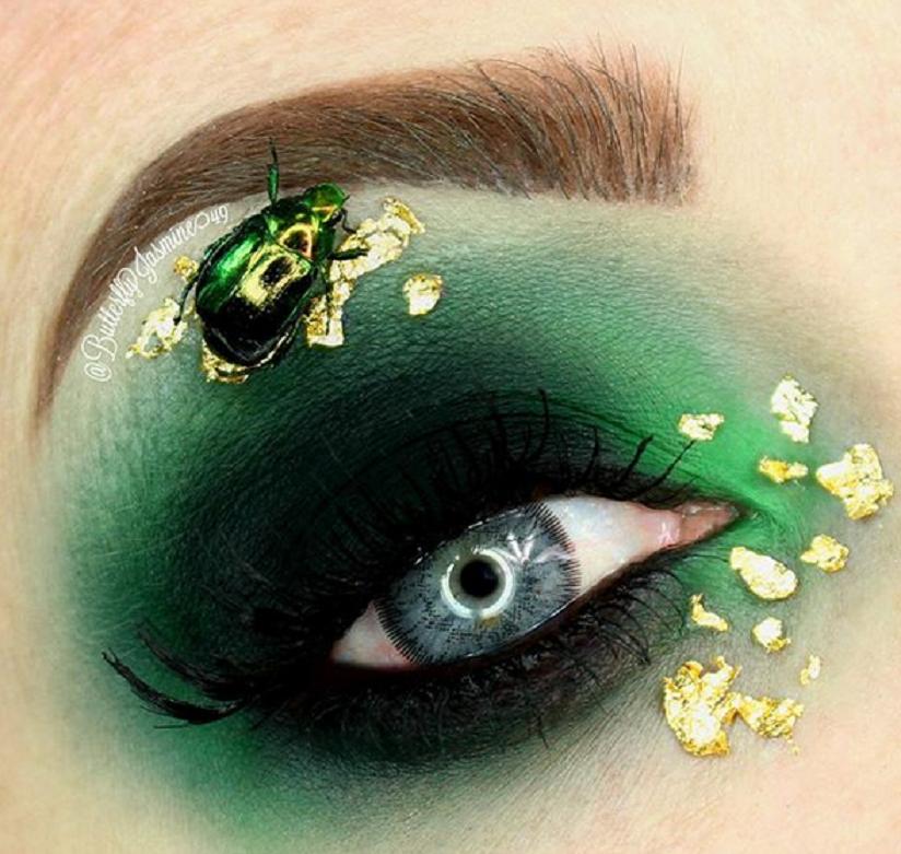 Makijaże wykonane przez Jasmine Ahumadę