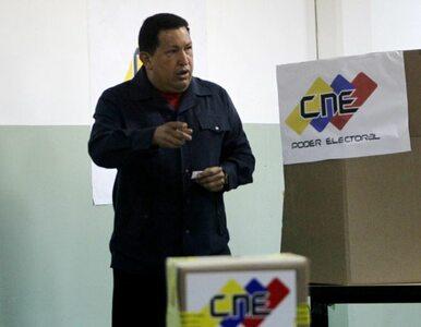 Chavez: uszanuję każdy wynik wyborów