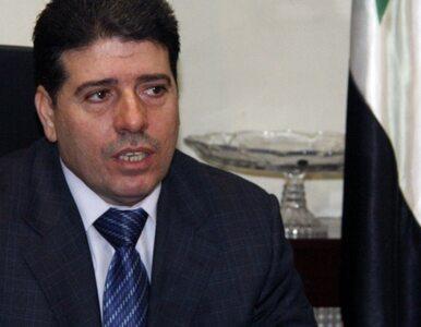 Syria: premier uciekł - zastąpił go minister zdrowia