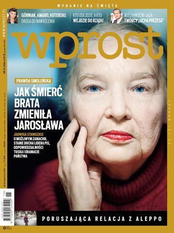 Okładka tygodnika Wprost nr 15/2017 (1782)