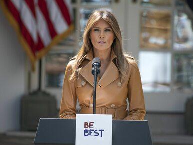 """Melania Trump wyszła ze szpitala. """"Pozostaje w dobrym humorze"""""""