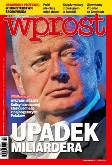 Okładka tygodnika Wprost nr 36/2013 (1593)