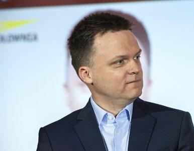 """Hołownia mówił o """"truchle kampanii Kidawy-Błońskiej"""". Skrytykowała go..."""