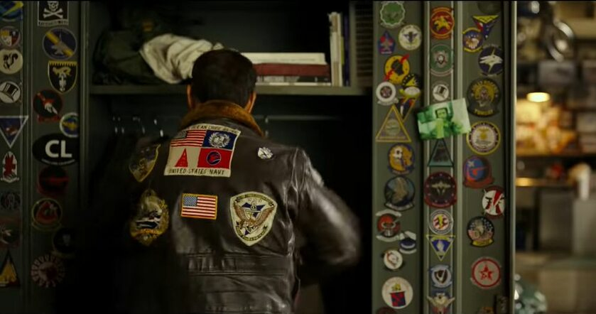 "Kadr z filmu ""Top Gun: Maverick"""