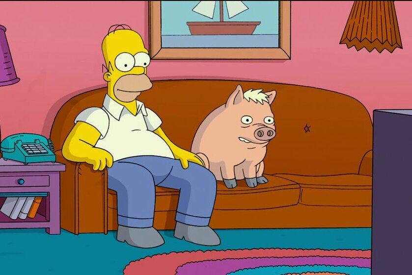 """Kadr z filmu """"Simpsonowie"""""""