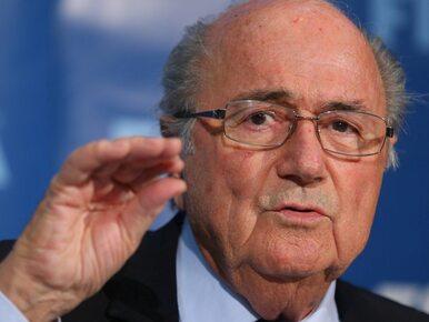Blatter po raz 5. szefem FIFA. Jego rywal się wycofał