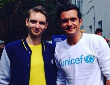 Orlando Bloom z niespodziewaną wizytą Donbasie