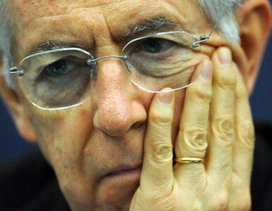 Monti: gdybym był Niemcem, to byłbym dziś smutny