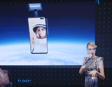 Samsung wysłał w kosmos selfie celebrytki. Absurdalny projekt miał...