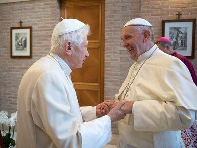 """Benedykt XVI o """"bzdurnych uprzedzeniach"""" wobec papieża Franciszka"""
