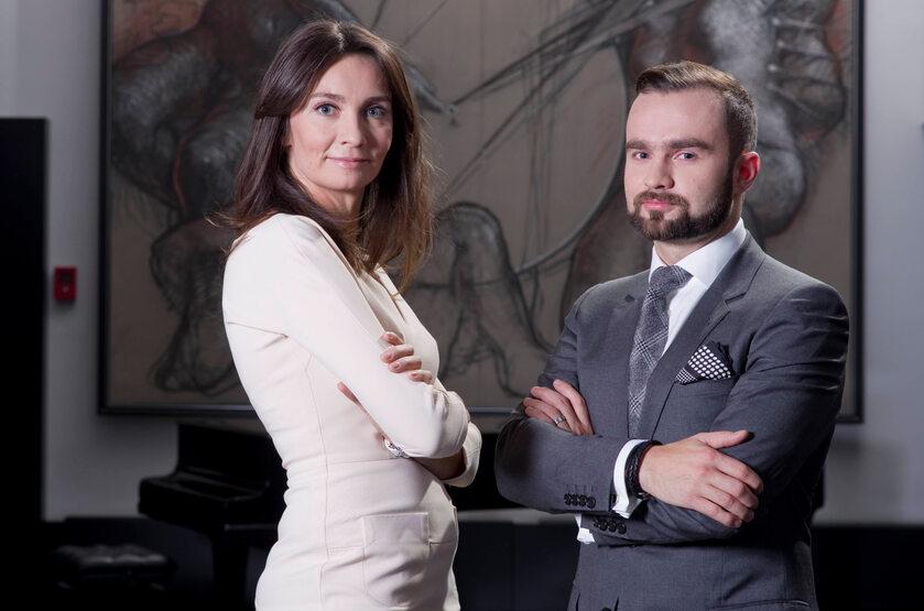 Dominika i Sebastian Kulczykowie