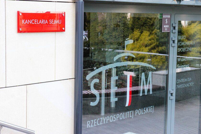 Kancelaria Sejmu, zdjęcie ilustracyjne