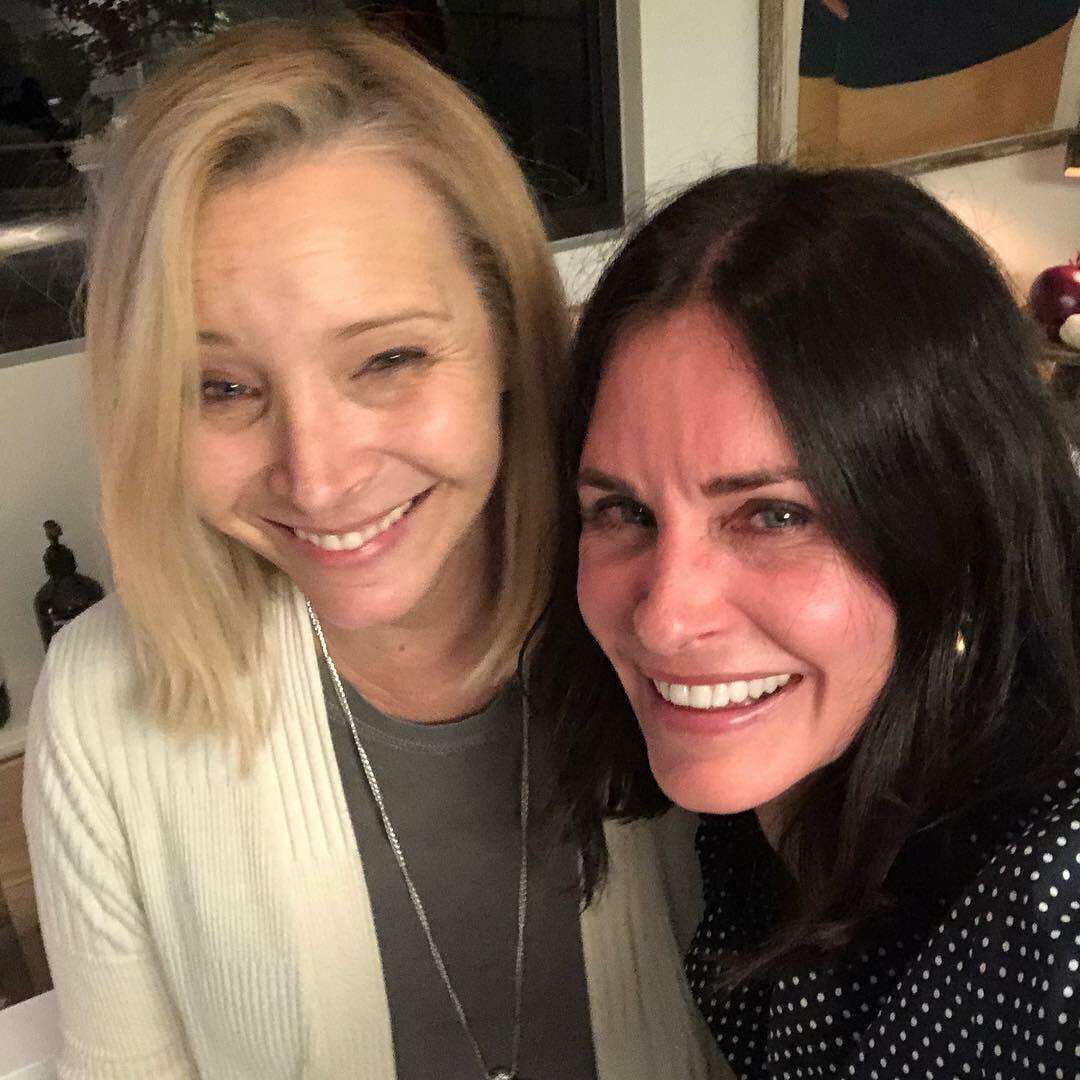 Courteney Cox i Lisa Kudrow