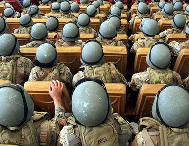 Brytyjczycy będą utrzymywać afgańskie wojsko