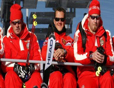 Schumacher schudł. Waży 56 kg