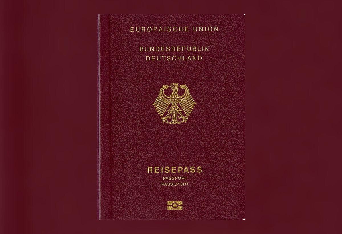 2. Niemiecki paszport