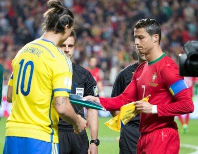 Ibrahimović bił brawo Ronaldo? Szwed zaprzecza