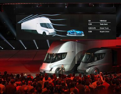Pierwsza elektryczna ciężarówka. Rewolucyjny projekt Tesla Motors...