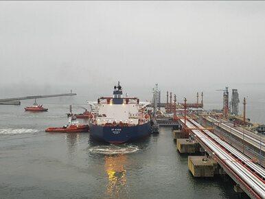 Grupa Lotos odebrała pierwszy transport ropy z USA