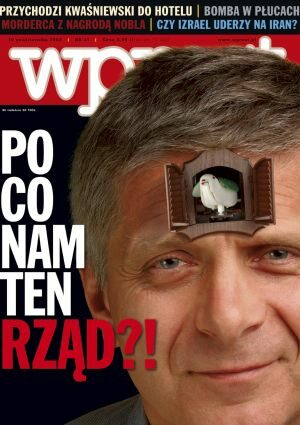 Okładka tygodnika Wprost nr 41/2004 (1141)
