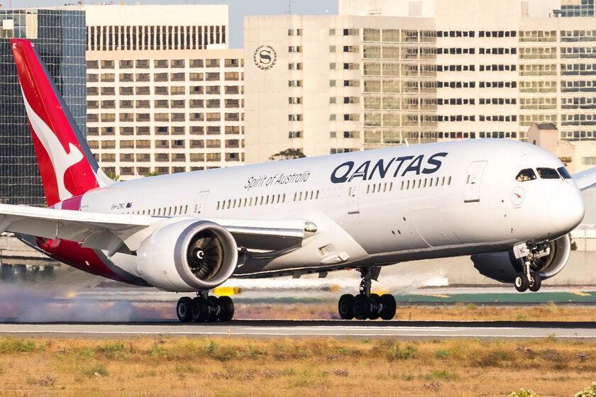 Boeing 787-9 Dreamliner linii Qantas