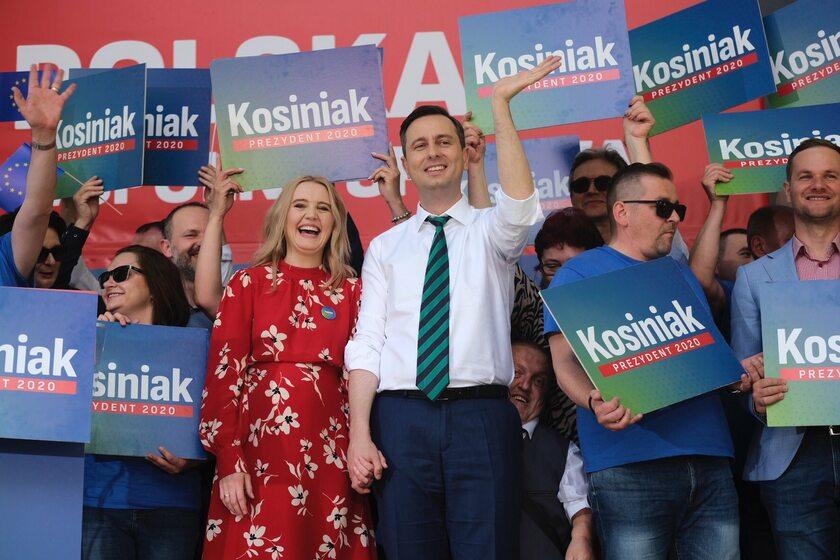 Władysław Kosiniak-Kamysz z żoną