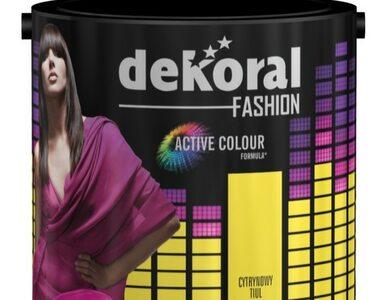 Stwórz wnętrze w kolorach mody! Nowa farba Fashion Collection marki...