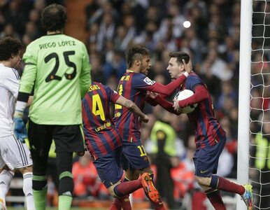Primera Division: Barcelona podbiła Santiago Bernabeu! Hat-trick Messiego